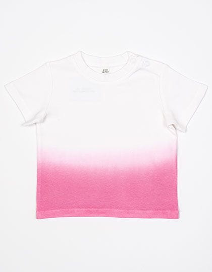 Baby Dips T White / Bubble Gum Pink