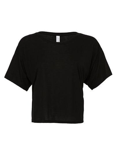 Flowy Boxy T-Shirt Black