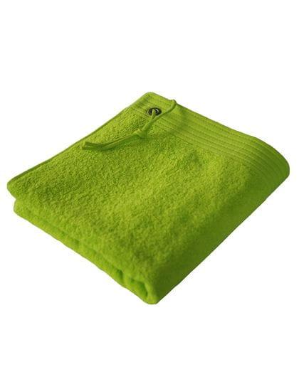 Premium Sport Bath Towel Lime