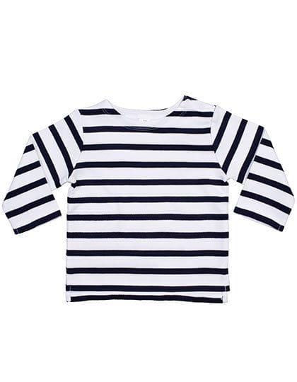 Baby Breton Top White / Navy