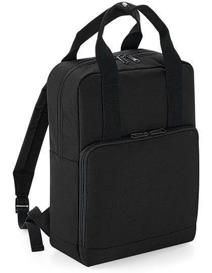 Twin Handle Backpack Black