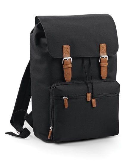 Vintage Laptop Backpack Black