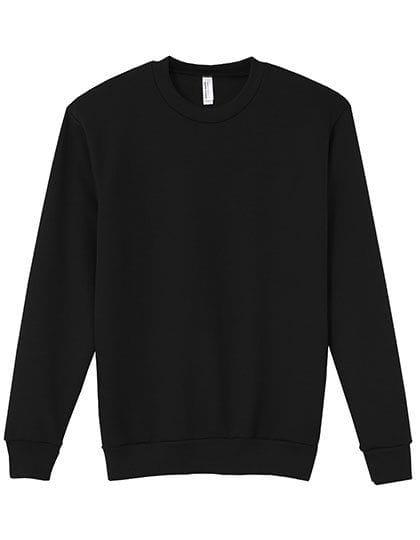 Unisex Flex Fleece Drop Shoulder Sweatshirt Black