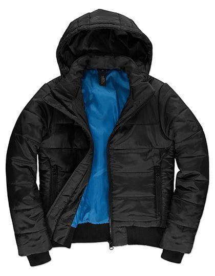 Jacket Superhood /Women Black / Cobalt Blue