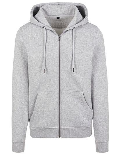 Premium Zip Hoodie Heather Grey