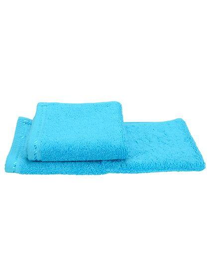 Guest Towel Aqua Blue