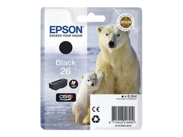 Epson Tintenpatronen C13T26014020 2