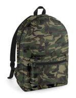 Packaway Backpack Jungle Camo / Black
