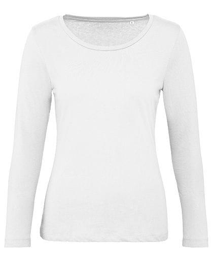 Inspire Long Sleeve T / Women White