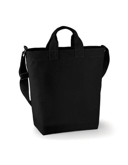 Canvas Day Bag Black