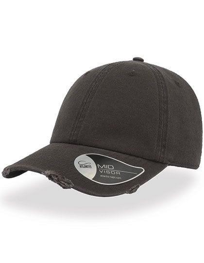 Dad Hat Destroyed Dark Grey