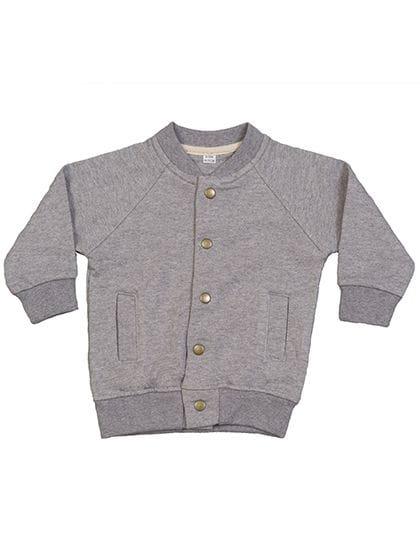 Baby Bomber Jacket Heather Grey Melange