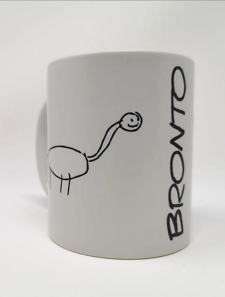 Die Bronto Tasse - ein muss für jeden Dino-Fan