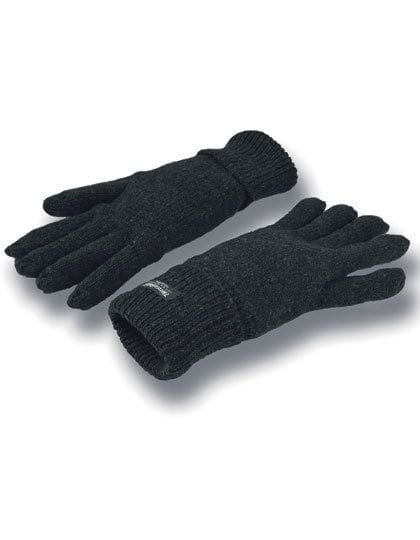 Comfort Thinsulate™ Gloves Black Solid