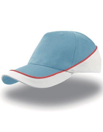 Kid Racing Cap Light Blue / White
