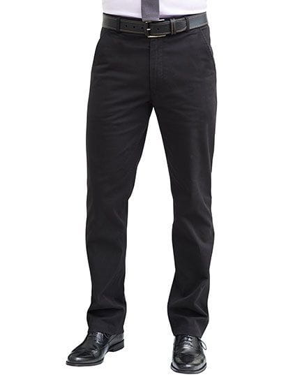 Business Casual Denver Men`s Classic Fit Chino Black