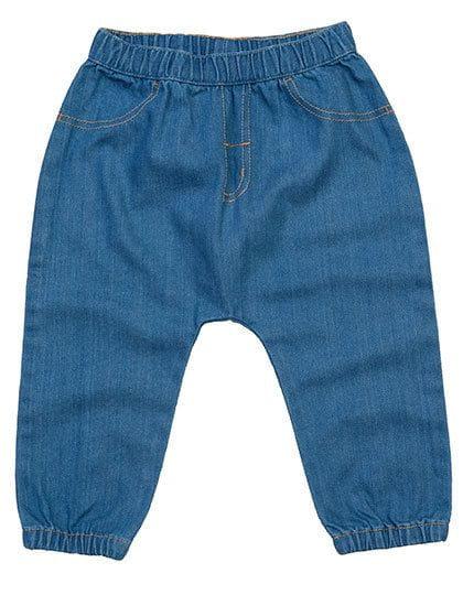 Baby Rocks Denim Trousers Denim Blue