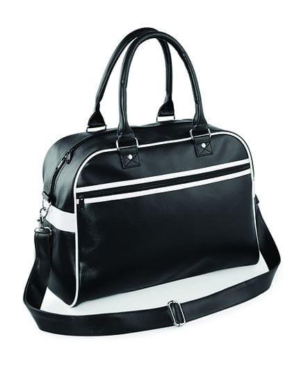 Original Retro Bowling Bag Black / White