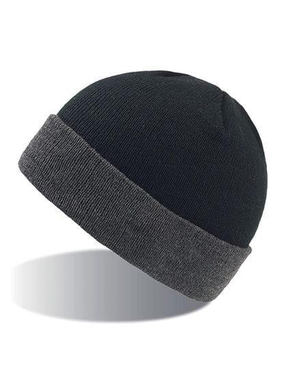 Wind Beanie Black / Grey