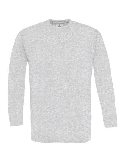 T-Shirt Exact 150 Long Sleeve Ash (Heather)