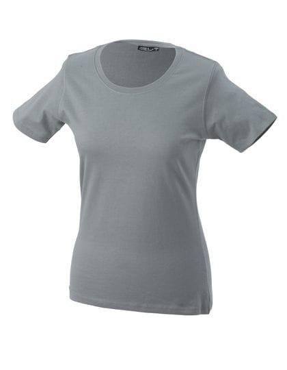 Rundhals T-Shirt (leicht tailliert) - James & Nicholson