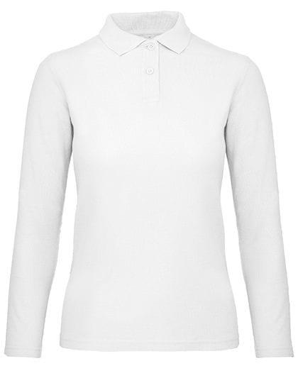 Long Sleeve Polo ID.001 / Women White