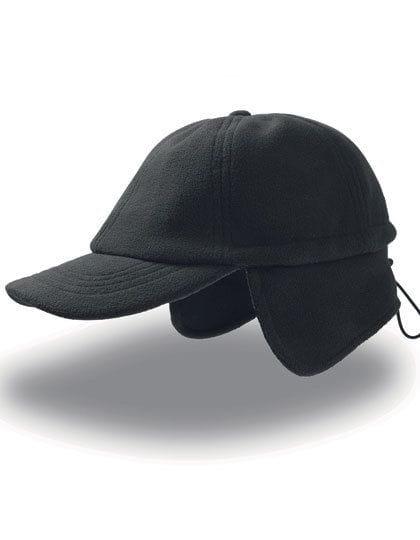 Snow Flap Stopper Cap Black