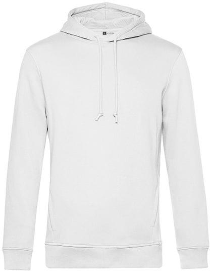Organic Hooded Sweat White