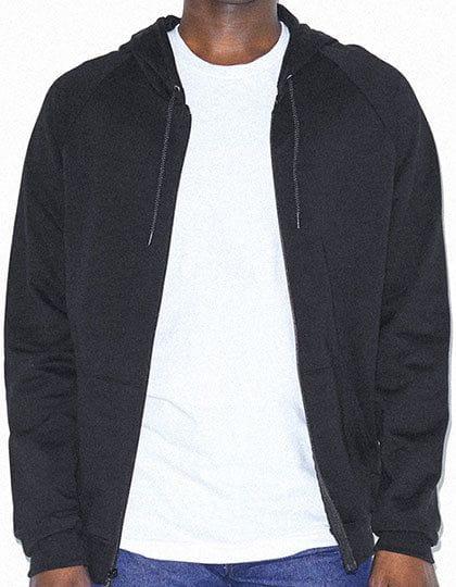 Unisex California Fleece Zip Hooded Sweatshirt Black
