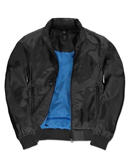 Jacket Trooper /Women Black / Cobalt Blue