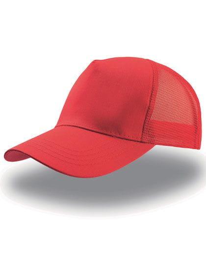 Rapper Cotton Cap Red / Red