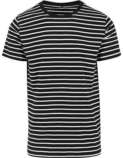 Stripe Tee Black / White