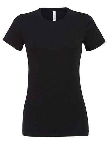 Women´s Relaxed Jersey Short Sleeve Tee Black