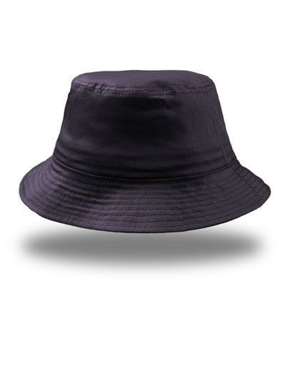 Bucket Cotton Hat Navy