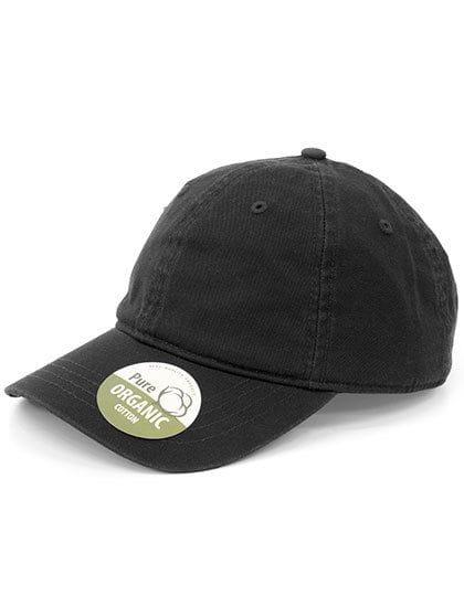 Organic Cotton Cap Unstructured Black
