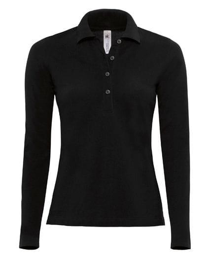 Polo Safran Pure Longsleeve / Women Black