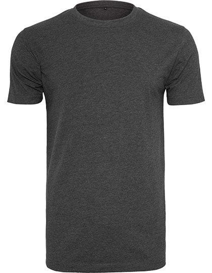T-Shirt Round Neck Charcoal (Heather)