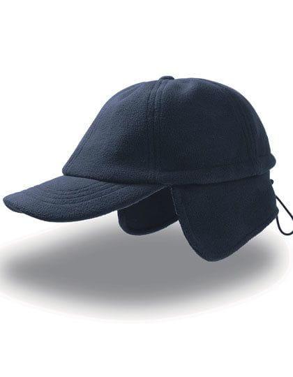 Snow Flap Stopper Cap Navy