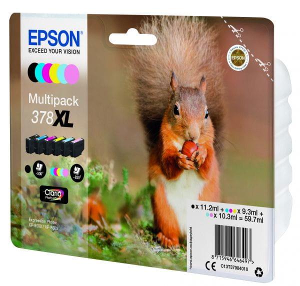 Epson Tintenpatronen C13T37984010 3