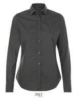 Becker Women Shirt Dark Grey (Solid) / White