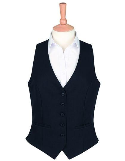 One Collection Luna Waistcoat Black