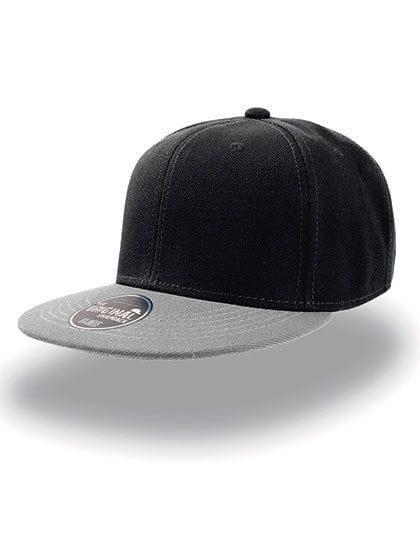 Snap Back Cap Black / Grey