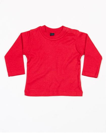 Baby Long Sleeve T Red