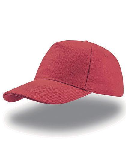 Liberty Five Buckle Cap Red