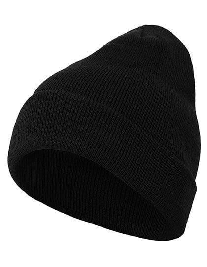 Heavy Knit Beanie Black