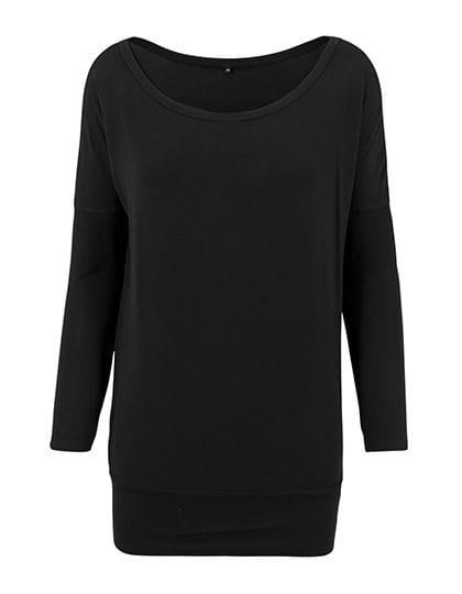Ladies` Viscose Longsleeve Black
