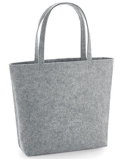 Felt Shopper Grey Melange