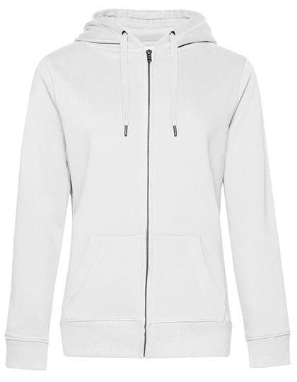 QUEEN Zipped Hood Jacket /Women White
