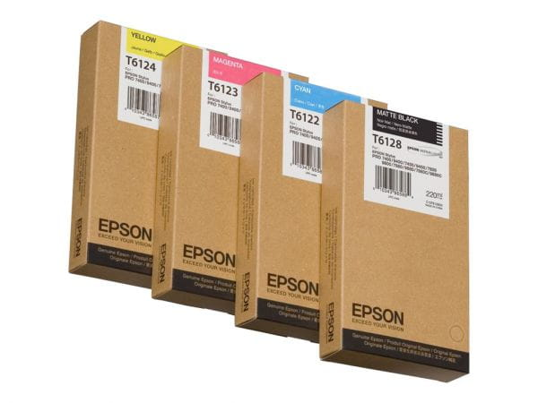 Epson Tintenpatronen C13T612200 1
